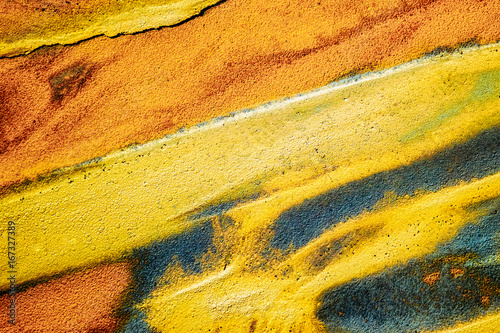 Abstract color sand texture, top view.  - 167327389