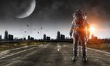 Przygoda spaceman. Różne środki przekazu