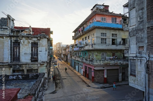 Papiers peints La Havane in den Straßen von Havanna auf Kuba, Karibik