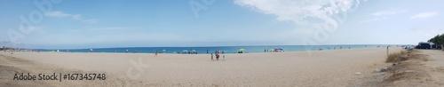 Foto op Canvas Panoramafoto s Plaża. Panorama