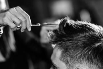 Hair styling © Microgen