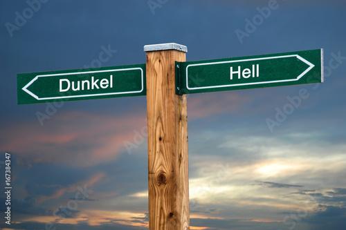 Schild 237 - Hell