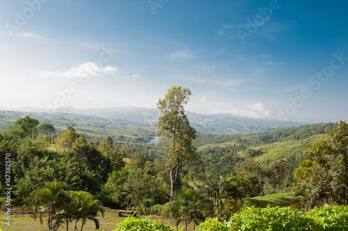 beautiful landscape thailand province loei