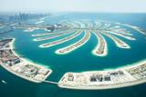 Aerial View Of Palm Island In Dubai - 167401364