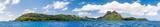 Mont Otemanu Archipel und Lagune auf Bora Bora, Französisch Polynesien - 167401765