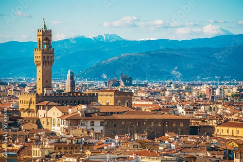 Fotobehang Florence Toscany City of Florence