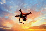 Mapping Drone at Sunset - 167420376