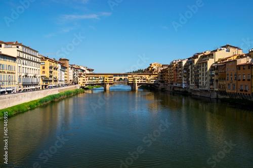 Foto op Canvas Florence Ponte Vecchio Firenze
