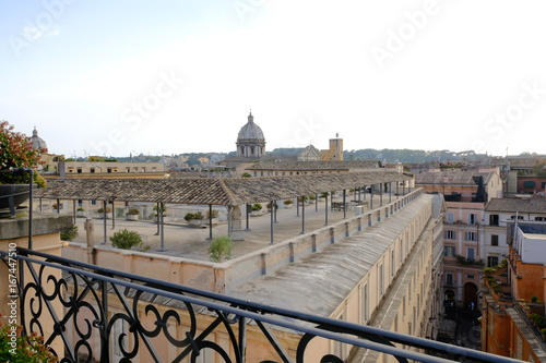 Tuinposter Rome Panoramic view over Ancient Rome