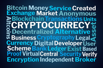 Cryptocurrency Word Cloud