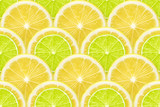 lemon and lime freshness - 167468993