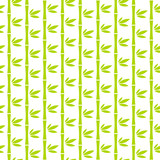 Seamless Pattern Abstract Green Bamboo