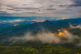 Night view of Phu Tub Berk, Petchaboon, Thailand