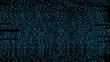 Постер, плакат: Streaming matrix technology binary code