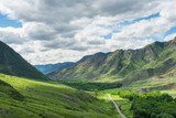 The Altai Mountains.