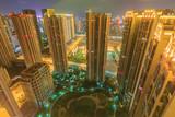 Xiamen Community At Night