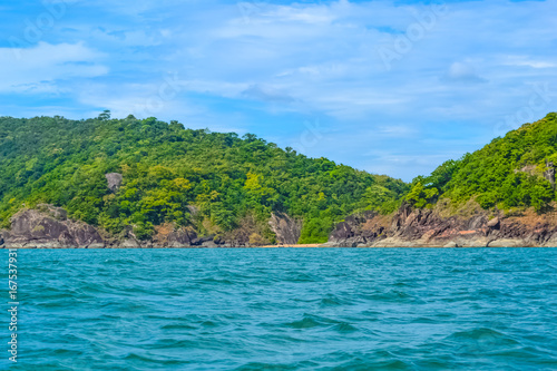 Foto op Plexiglas Tropical strand Beautiful Sea Green Waters of South Goa, India