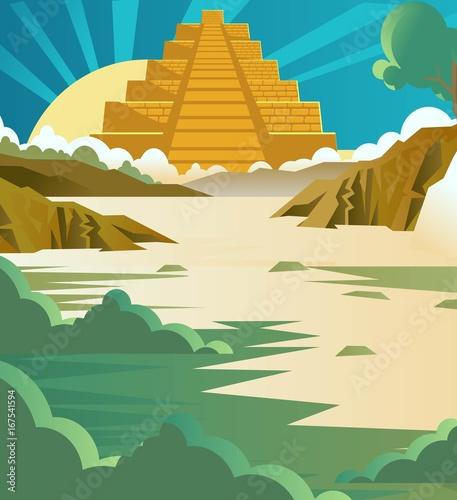 aztec pyramid temple background   Buy Photos   AP Images   DetailView