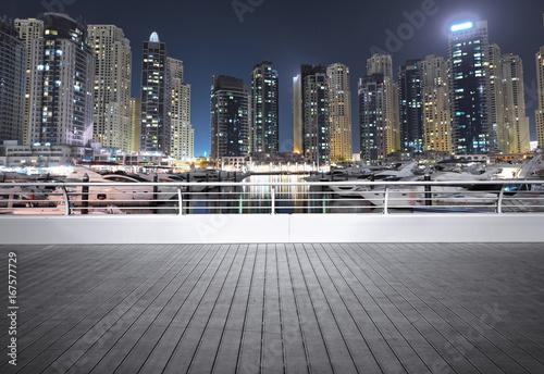 Dubai marina at night,UAE © WaitforLight