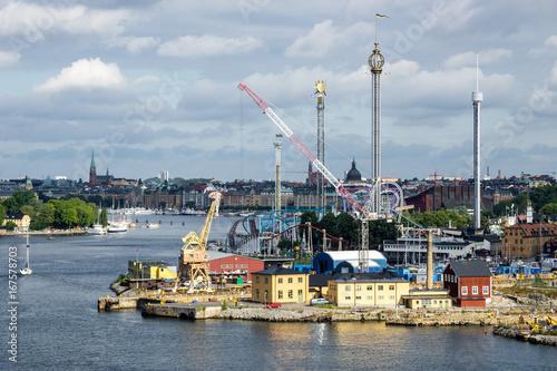 Aluminium Stockholm port of stockholm sweden
