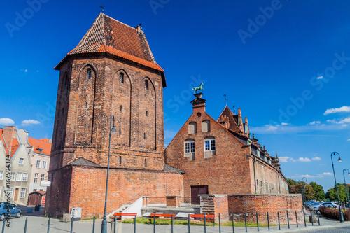 Baszta Narozna (Corner Tower) in Gdansk, Poland