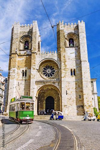 Lisbon Cathedral in Lisbon, Portugal