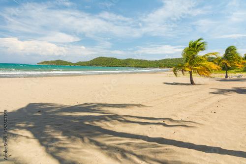 Sand beach in Cuba