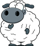 Small Cartoon Sheep