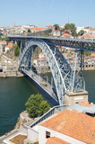 City of Porto, Portugal. Don Luis I Bridge
