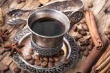Coffee mug in the oriental style - 167658106