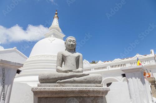 Buddhastatue in Galle, Sri Lanka