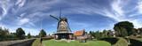 Panorama from the windmill de kaai in Sloten
