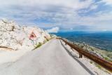 Tarmac mountain road