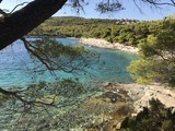 Srebrna beach, Vis island - Croatia - 167693542