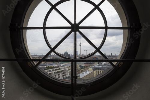 Deurstickers Berlijn berlin germany window view