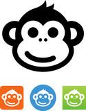 Smiling Monkey Icon