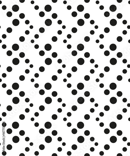 Seamless pattern with geometric shapes and symbols. Vector texture or background pattern. - 167713386