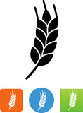 Vector Wheat Icon - Illustration - 167717936