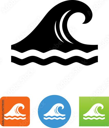 Wave Icon - Illustration