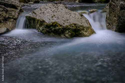 Small waterfall in the River - 167721160