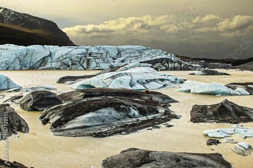 Staande foto Beige Iceland Landscapes