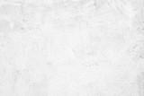 Blank white grunge cement wall texture background, banner, interior design background - 167748561