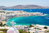 View on Mykonos island, Cyclades, Greece - 167757720