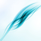 Abstract motion smooth blue
