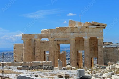 Grèce, Acropole d'Athènes Poster