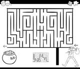 maze activity game with wanderer