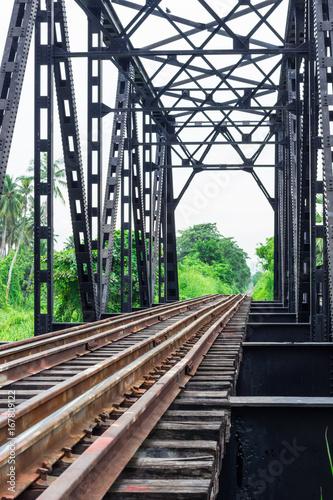 Fotobehang Spoorlijn Railway : 鉄道・レール