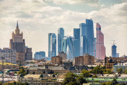 Foto op Canvas Moskou View of Moscow, Russia