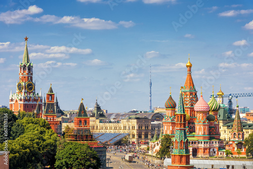 Foto op Aluminium Moskou Red Square in Moscow