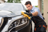 Car detailing concept. Auto cleaning and polish. - 167813516